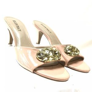 Ellen Tracy Pale Pink Dressy Heels Sandals